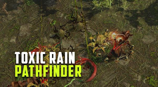 3 6] Toxic Rain Ranger (Pathfinder) | Path of Exile Gems