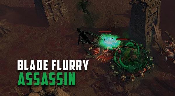 3 5] Bloodseeker Blade Flurry Shadow (Assassin) | Path of Exile Gems