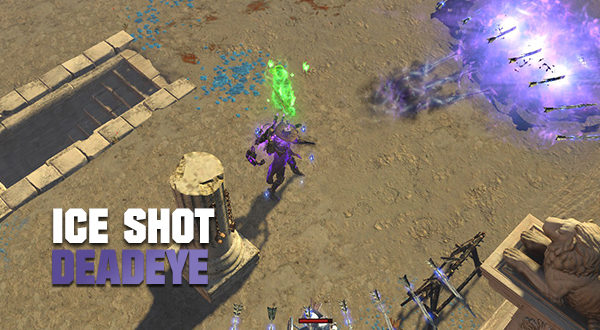 3 7 Legion Voidfletcher Ice Shot Ranger Deadeye Path Of Exile Gems Place into an item socket connected to a socket containing the active skill gem you wish to augment. voidfletcher ice shot ranger deadeye