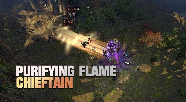 PoE 3 9] CI Purifying Flame Marauder (Chieftain)