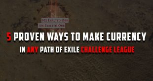 How to make currency in any path of exile challenge league