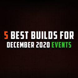 5 Builds for December events – Mayhem, Endless Delve & Flashback