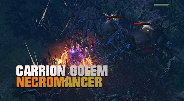 Carrion Golem Necromancer 3.13